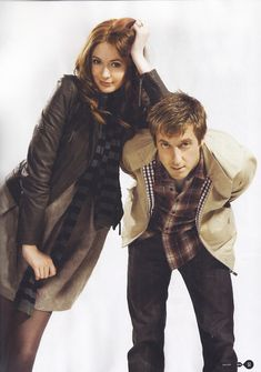 Amy Pond and Rory Williams...The Girl Who Waited and The Last Centurion.