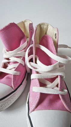 Pink Converse! My style! :)