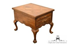 Lane Furniture Walnut Italian Provincial Accent End Table W. Banded Top - Comme un camion Lane Furniture, Cool Furniture, Sofa Tables, End Tables, Thomasville Furniture, Long Driveways, Large Truck, Secretary Desks, This Or That Questions