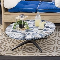 Why buy an expensive mosaic table if you can just make your own? With a few #Dremel tools, anything is possible. Check out how to make on #DremelWeekends.