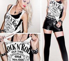 moda donna rock - Cerca con Google