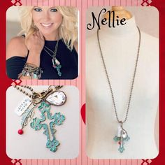 Have mercy with this NELLIE necklace! ❤️