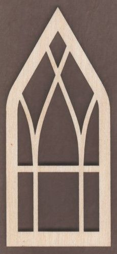 We have a very nice selection of Laser Cut Wood Windows for Doll Houses. Stop in and see all the great Shapes for your latest project.