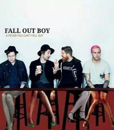 fall out boy and a fever you can't sweat out [ @houseofpizza ]