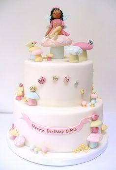 fondant birthday faery