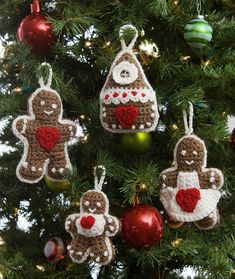 Gingerbread Tree Ornaments