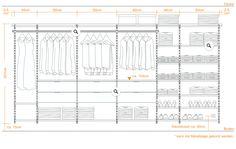 Montagehinweise - begehbarer Kleiderschrank System Aufbau Walk In Wardrobe, Dressing Room, Floor Plans, Interior Design, Desk, Inspiration, Future, Home, Organization