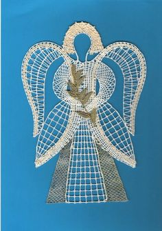 engel Types Of Lace, Bobbin Lace Patterns, Lace Heart, Lace Jewelry, Lace Making, Lace Detail, Home Crafts, Knit Crochet, Projects To Try