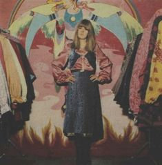 Jenny Boyd at the Apple Boutique - Circa. 60s And 70s Fashion, Vintage Fashion, Psychedelic Fashion, Psychedelic Posters, Sparkle And Fade, Swinging London, Twist And Shout, Glamour, Summer Of Love
