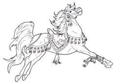 Carousel Horse Tassels by ReQuay.deviantart.com on @DeviantArt