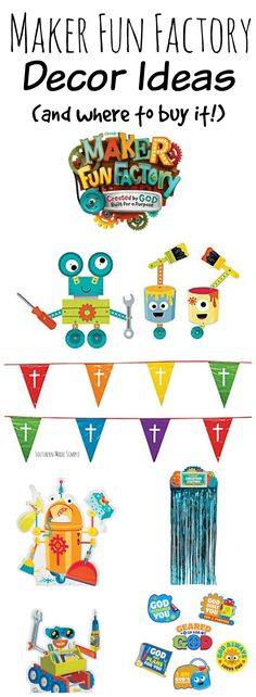 2020 Vbs Decorating Ideas Maker Fun Factory 2727 Best VBS IDEA images in 2019 | Sunday school, Bible art