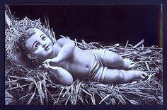 RPPC Vintage Christmas Postcard Religious Postcard Vintage