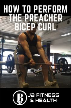 FOLLOW the link to the key points to performing the Bicep Preacher Curl using an EZ-Bar.  Fantastic movement for bigger arms and bicep isolation.  info@jbfitnessandhealth.com @jbfitnesshealth Preacher Curls, Bigger Arms, Biceps, Health Fitness, Key, Link, Instagram, Unique Key
