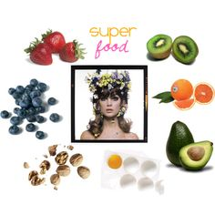 """Super Food"" by johannawallasvaara on Polyvore"
