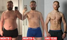 Man reveals his astonishing transformation after shedding SEVEN stone mens fitness Bodybuilding Insanity Workout, Best Cardio Workout, Fun Workouts, Workout Fitness, Crossfit Transformation, Weight Loss Transformation, Vegan Bodybuilding, Bodybuilding Workouts, Training Motivation