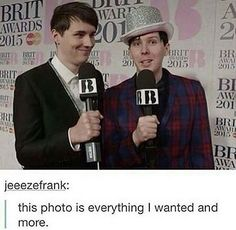 This perfectly describes dan and phil though does it not