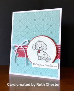 Now is this LATE or what but as promised I am sharing with you some cards that I received at Richmond over the weekend. Have you ever had soooooo much fun that you came home pooped and just wanted to crawl into bed and snuggle! Well – that is me right now but …