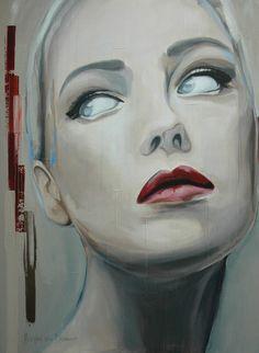 """Saatchi Art Artist: Hesther Van Doornum; Acrylic 2012 Painting """"Grace II - SOLD"""""""