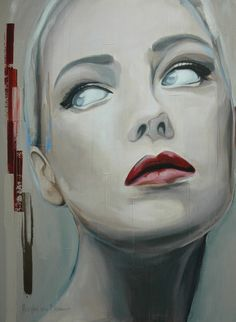 """Saatchi Online Artist: Hesther Van Doornum; Acrylic, 2012, Painting """"Grace II (sold)"""""""