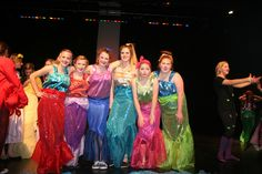 """The Little Mermaid"" play at Stapley Junior High, these are the Mersisters! My favorite characters!"