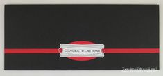 Graduation Money Card - includes dimensions and instructions