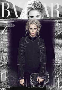 de couture on Harper's Bazaar Ucraine
