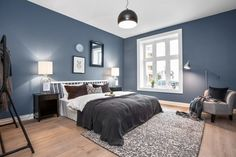 Skovin Elegant tregulv på Frogner i flott leilighet Living Room Paint, Living Room Decor, Bedroom Decor, Beautiful Space, Your Space, Master Bedroom, Interior Decorating, Trends, Inspiration