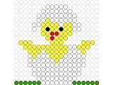 Fuse Bead Patterns, Beading Patterns, Stitch Patterns, Fuse Beads, Perler Beads, Bunny Crafts, Easter Projects, Beaded Crafts, Balloon Decorations