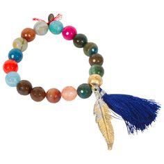 Fall Feather Bracelet