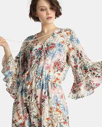 e0058d464 Moda. Vestido largo de mujer Southern Cotton con estampado floral