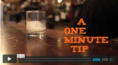One Minute Tip - How to Remove the Wax from Your Candle Jars by maxwell ryan. Today's One Minute Tip comes from Ian at Cafe 'Ino, who kindly shares their secret for maintaining that lovely flickering glow in shining glass night after night.