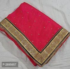 designer border pattern saree with handwork Border Pattern, Lace Border, Pinterest Fashion, Best Budget, Ethnic Fashion, Sarees, Silk, Fabric, Fashion Design