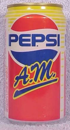 pepsiAM? I dont remember ever seeing it. 1989.