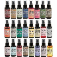 24 nieuwe distress spray stains
