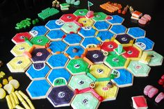 Settlers of Catan + sugar cookies, icing, and candy = Candy Catan