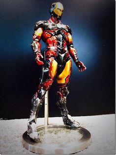Square Enix To Release Iron Man Variant Play Arts Kai Figurine - Siliconera