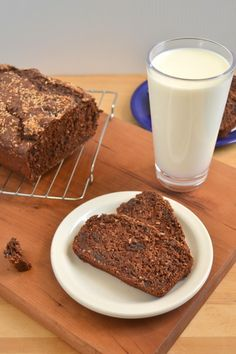 Vegan, Whole Wheat, Double Chocolate Coconut Banana Bread Recipe