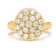 Jamie Joseph Brilliant Diamond Cluster Ring | Greenwich Jewelers  |  Alternative engagement ring