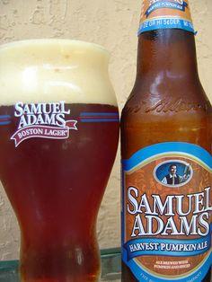 sam adams pumpkin ale.  aahh autumn is here!