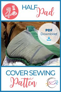 Make your own half pad cover with this simple DIY sewing pattern. Half pad covers help to keep your half pads clean and last longer. Bonnet Pattern, Pouch Pattern, Sewing Quarter, Make Your Own, Make It Yourself, Forms Of Communication, Horse Crafts, Letter Size Paper, Simple Diy