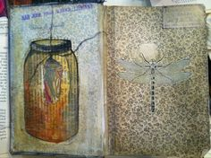Recycled Art Journaling Summer Camp at Kids Studio of Fine Arts (Roseville, Ca)  (916) 774-ARTS