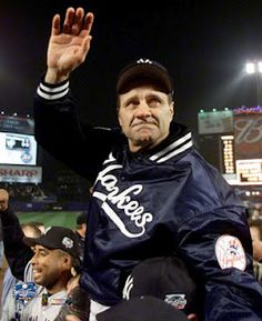 Joe Torre, after winning the World Series in 2000.