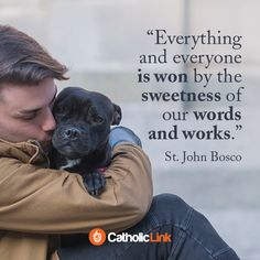 Catholic quotes, infographics, memes and more resources for the New Evangelization. Gallery: 5 Amazing Quotes By St. Christian Devotions, Christian Life, Christian Quotes, St John Bosco, Kids Poems, Catholic Quotes, Saint Quotes, Real Life Quotes, Catholic Saints