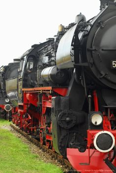 Close-up of a steam engine, Steamlocomotive Days, Meiningen, Thuringia, Germany