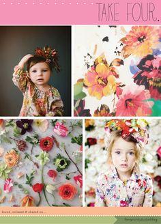love print studio blog: Take Four...Spring Florals