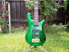 Green Spector Bass. Yum.