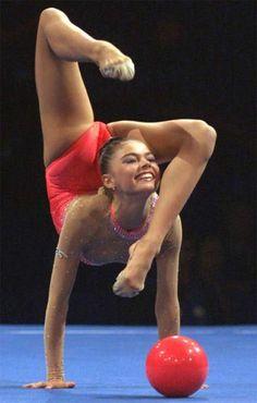 Alina Kabaeva Rhythmic Gymnastics