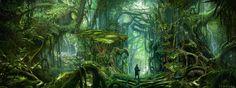 ArtStation - Primeval Forest, Jason Scheier