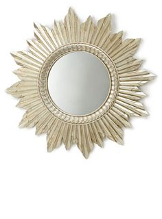 From a mirrored chest to a Art Deco chandelier and a gorgeous black and gold cushion, we round up our favourite Great Gatsby look homeware. Home Deco Furniture, Antique Gold Mirror, Starburst Mirror, Art Deco Chandelier, Mirror Wall Art, Wall Colors, Decorative Accessories, Living Room Designs, Antiques