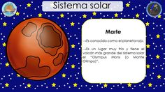 SISTEMA SOLAR (7) Space Classroom, Science And Nature, Grade 1, Solar System, Constellations, Acting, Spanish, Universe, How To Plan